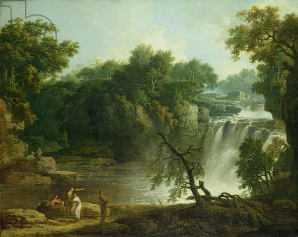 The Falls of Clyde, c.1771