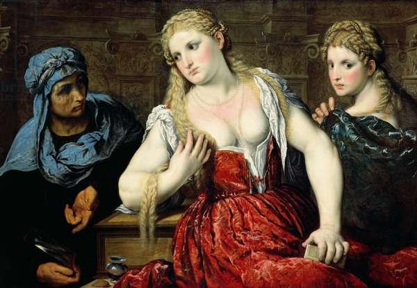 Venetian Women at their Toilet, c.1545 (oil on canvas)