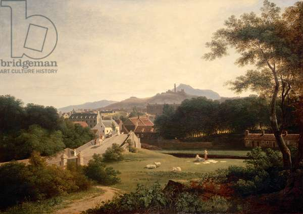 Edinburgh from Canonmills, c.1820-25