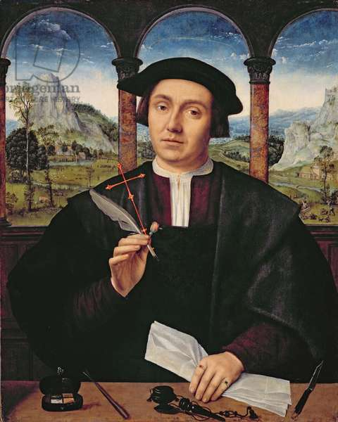 NG 2273 Portrait of a Man, c.1510-20 (panel)