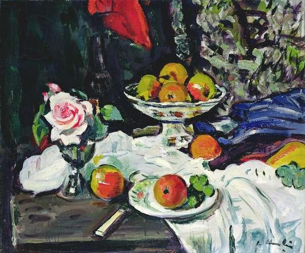 Still Life, 1930 (oil on canvas)