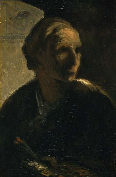 The Painter, c.1863-66 (oil on canvas)