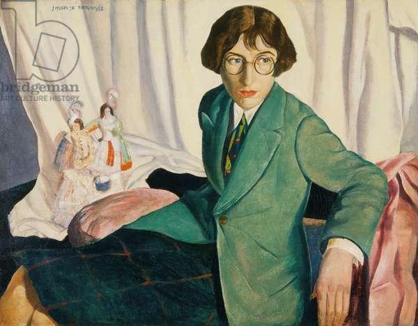 Dorothea Hannah, 1928 (oil on canvas)