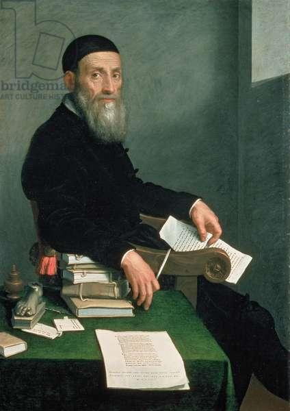 Portrait of Giovanni Bressani (oil on canvas)