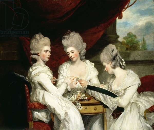 The Ladies Waldegrave, 1780 (oil on canvas)
