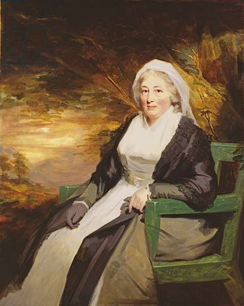 Christina Lamont Drummond, Mrs. Douglas Campbell of Ballimore, c.1795 (oil on canvas(