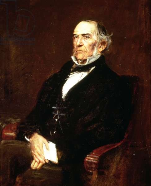 William Ewart Gladstone, 1879 (oil on canvas)