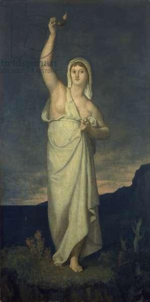 Vigilance, 1867 (oil on canvas)
