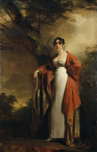 Frances Harriet Wynne, Mrs Hamilton of Kames, before June 1811 (oil on canvas)