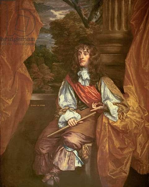 James VII of Scotland (James II of England) as Duke of York (oil on canvas)
