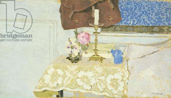 The Candlestick, c.1900 (oil on millboard)