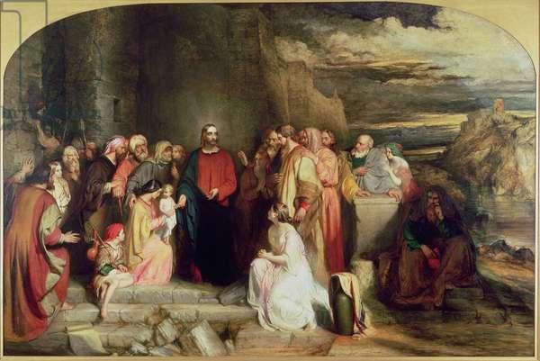 Christ Teacheth Humility, 1847 (oil on canvas)