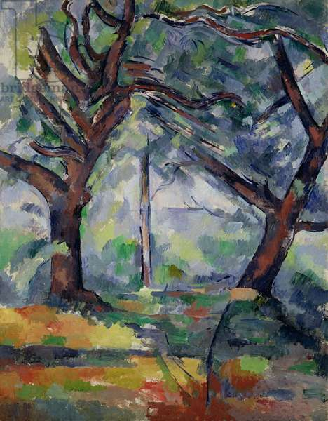 The Big Trees, c.1904 (oil on canvas)