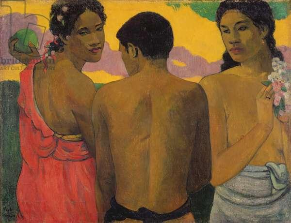 Three Tahitians, 1899