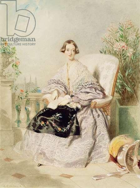 Queen Victoria, 1838 (w/c on paper)