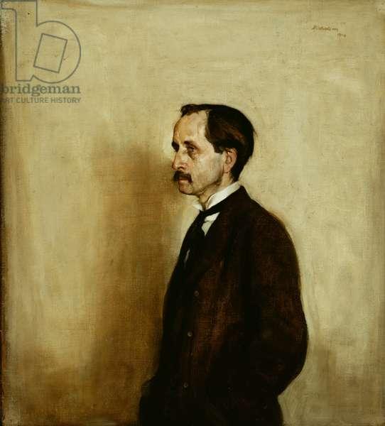 Sir James Matthew Barrie (1860-1937) 1904 (oil on canvas)