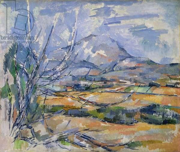 Montagne Sainte-Victoire, 1890-95 (oil on canvas)
