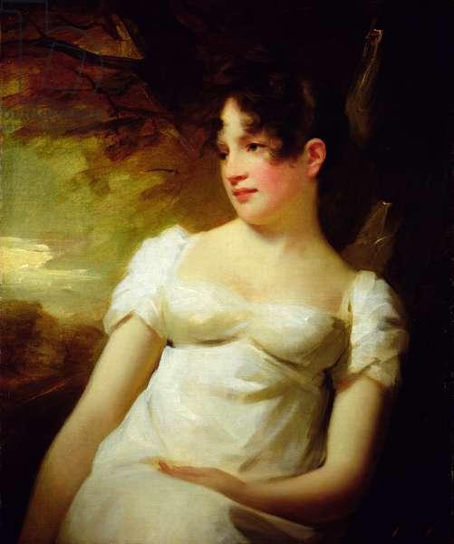 Miss Lamont of Greenock, c.1810-15 (oil on canvas)