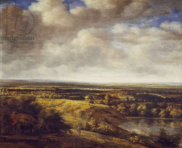 An extensive landscape, 1666 (oil on canvas)
