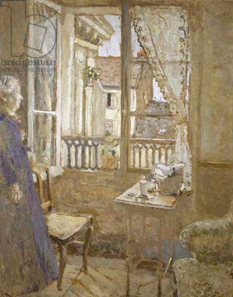 The Open Window, c.1899 (oil on millboard)