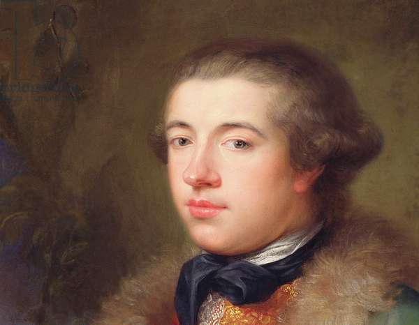 James Boswell, 1765 (oil on canvas) (detail of 68290)