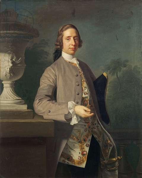George Bristow, 1750 (oil on canvas)