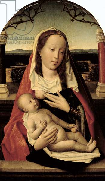 Virgin and Child (panel)