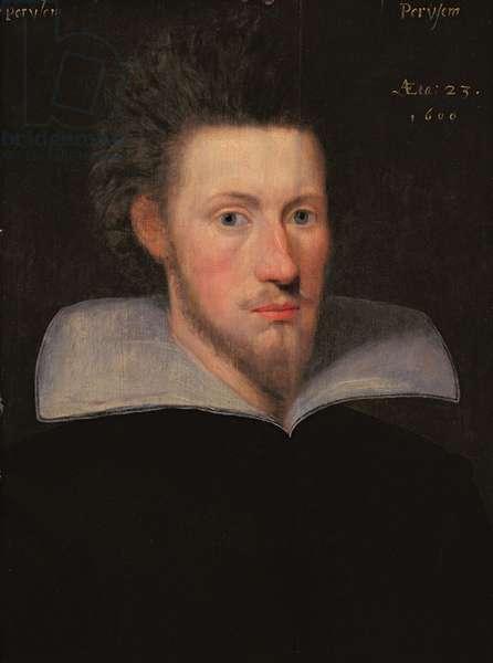 William Drummond of Hawthornden (1585-1649) 1609 (oil on panel)