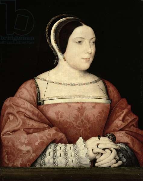 Madame de Canaples, c.1525 (oil on panel)