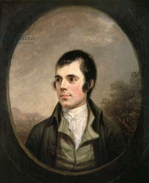 Robert Burns, 1787 (oil on canvas)