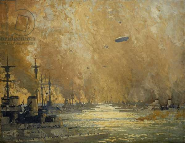 The German Fleet after Surrender, Firth of Forth, November 1918