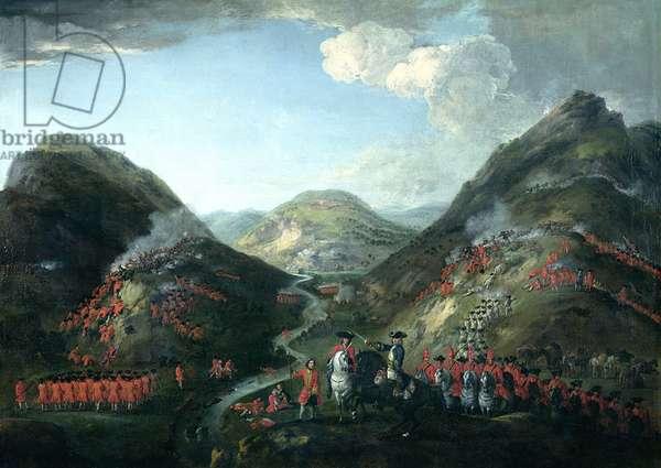 The Battle of Glenshiel, 1719