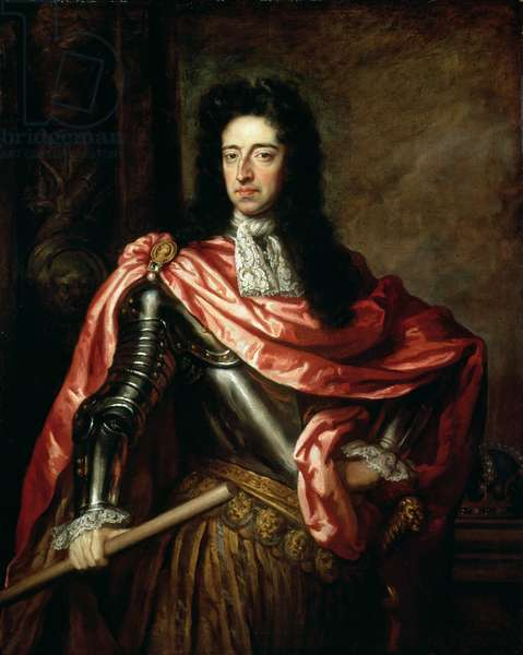 William III of Great Britain and Ireland (oil on canvas)