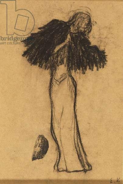 The Little Cape, c.1891 (black chalk on paper)