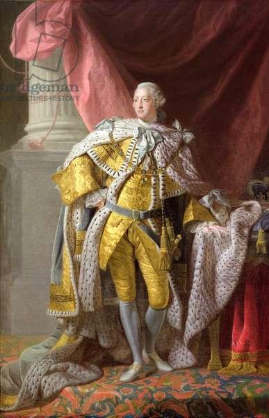 George III (oil on canvas)
