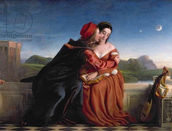 Francesca da Rimini, exh. 1837 (oil on canvas)