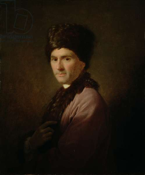 Jean-Jacques Rousseau, 1766 (oil on canvas)