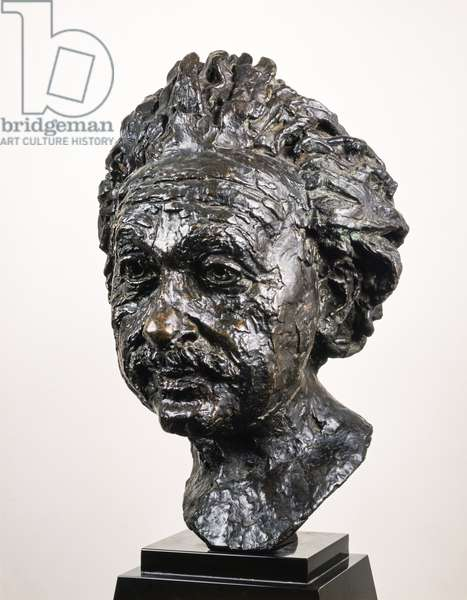 Albert Einstein (1879-1955) by Sir Jacob Epstein (1880-1959) 1933 (bronze)