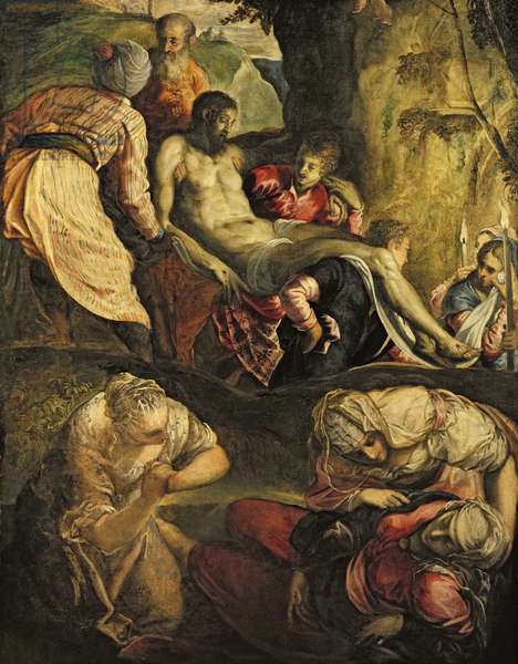 Christ Carried to the Tomb, late 1550s (oil on canvas)