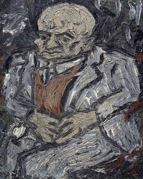 Portrait of Father, 1978 (panel)