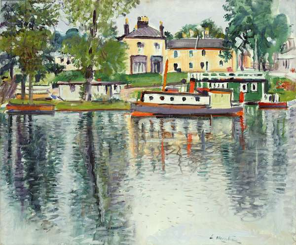 Reflections, Balloch, c.1929-30 (oil on canvas)