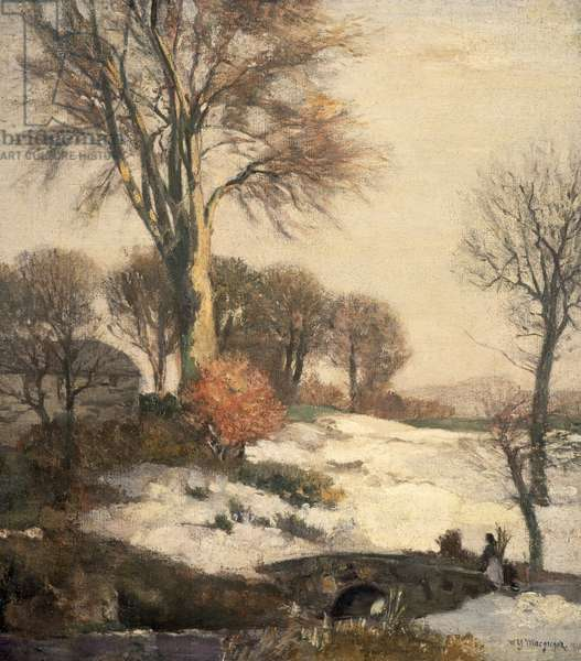 Winter Landscape, 1908 (oil on canvas)