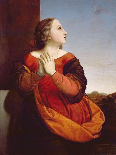 St. Catherine, c.1840 (panel)
