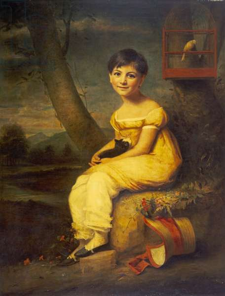 Zoe de Bellecourt, c.1825