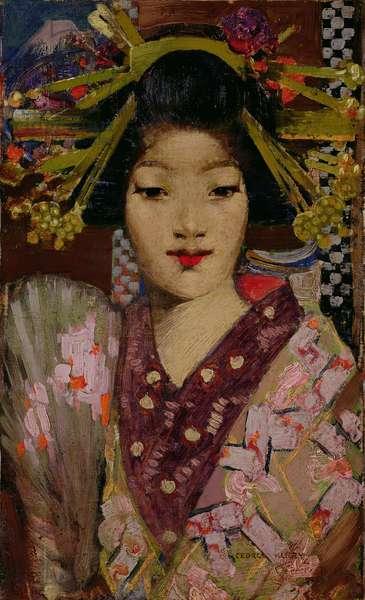 Geisha Girl, 1894 (oil on canvas)