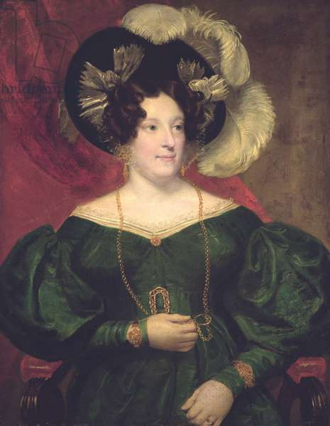 Caroline of Brunswick, Queen of Great Britain and Ireland (1768-1821), consort of George IV (oil on canvas)