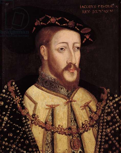 James V of Scotland (oil on panel)