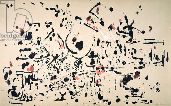 Untitled, 1951 (ink and gouache on paper)