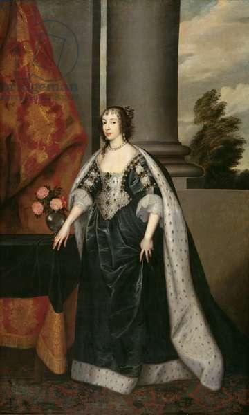Henrietta Maria (oil on canvas)