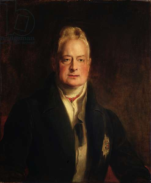 Portrait of King William IV (1765-1837) 1837 (oil on canvas)